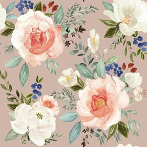 """8"""" Sweet Spring Florals // Clam Shell"""