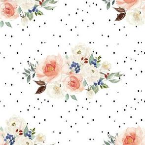 "8"" Woodland Spring Blooms // White"