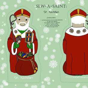 Sew-a-Saint: Saint Nicholas