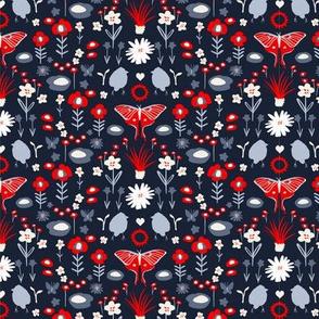 Floral Folk Butterfly