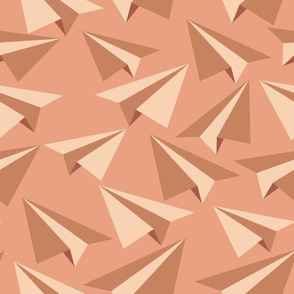 Paper Flight - camel colorway