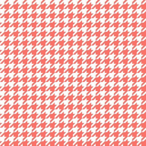 Coral Reef and White Houndstooth