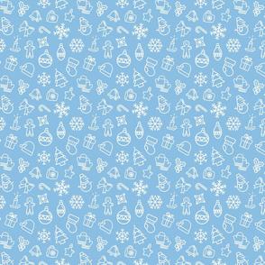 Light Blue Christmas