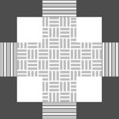 Textured Criss-Crosses