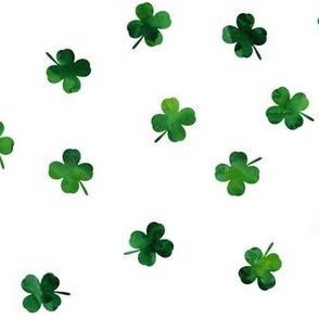 shamrocks - st patricks day - good luck green