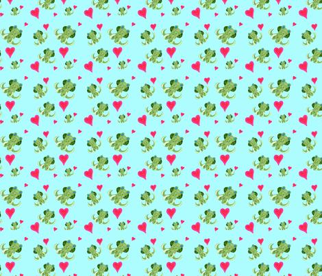 Octopus Hugs fabric by schwabem on Spoonflower - custom fabric