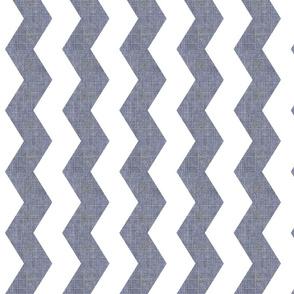 Denim Deconstruction -chevron /fadded denim blue w grey undertones -Vertical