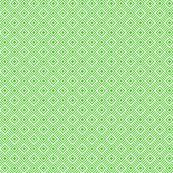 Geometric Square Green White Tonal Small