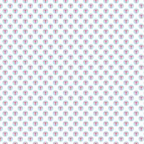 Mini Dot Uterus Blue