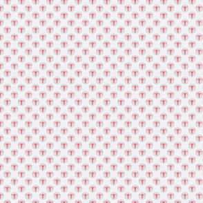 Mini Dot Uterus Grey