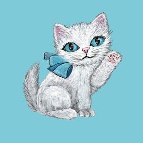 Watercolor kittens