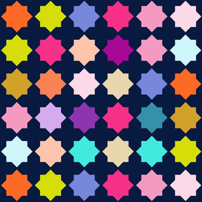 Colorful Moroccan Quilt