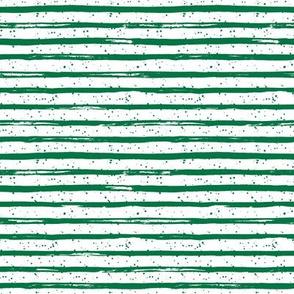 "8"" Bright Green Stripes"