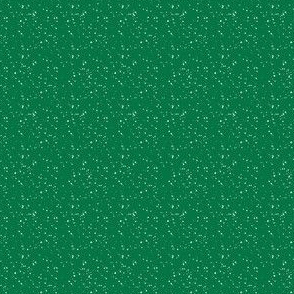 """4"""" Bright Green with White Dots"""