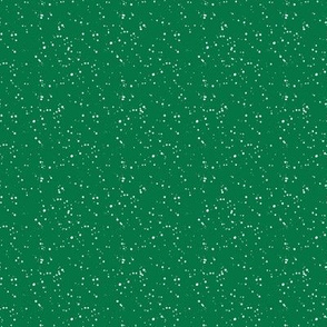 """8"""" Bright Green with White Dots"""
