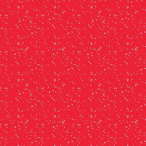 """8"""" Bright Red with White Dots"""