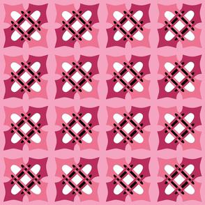 Merlins Keystone Black Hearts Pinks White 3-clean