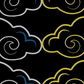 CLOUD_OUTLINES_VERTICAL_SEAMLESS_stock