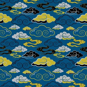 CLOUDS_BLUE_YELLOW_SEAMLESS_STOCK