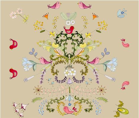 Rskandinavian-flowers-and-birds-2_contest226685preview