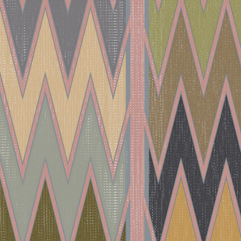 Pyong Ikat (3) fabric by david_kent_collections on Spoonflower - custom fabric