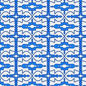 Cool Blue Moulding SW Tile