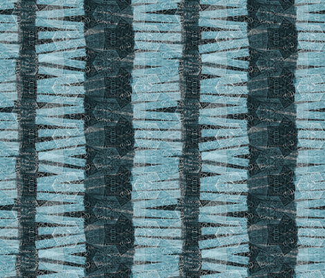 block stack-teal fabric by wren_leyland on Spoonflower - custom fabric