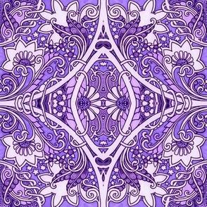 Under a Purple Sky