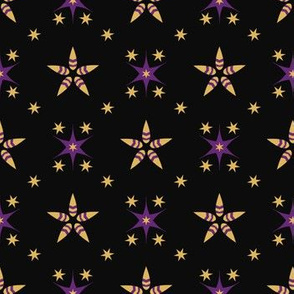 Festive Bright Starry Tracery
