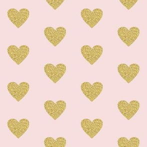 "2"" Heart of Gold // Peep Pink"