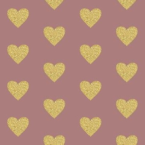 "2"" Heart of Gold // Pharlap Pink"