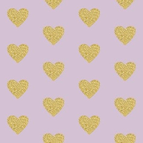 "2"" Heart of Gold // Maverick Lavender"