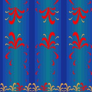 Striped - Scandinavian Inspired (Blue)
