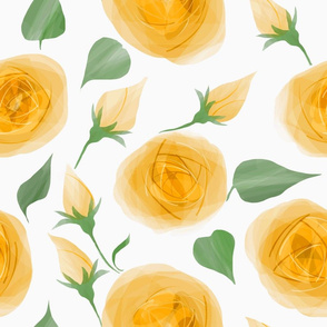 roses-yellow_watercolor
