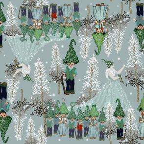 Woodland Gnomes and Princesses