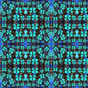 Ulysses Mutli Blue _ Brown1 Mirror Small