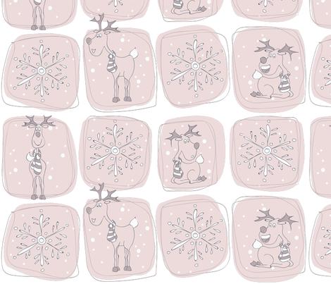 Winter dream fabric by annipe on Spoonflower - custom fabric
