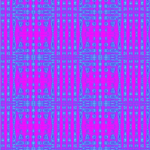 Blue and Pink Check