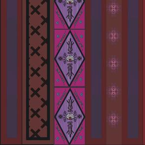 boho purple