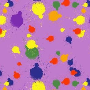 Painted Rainbow - Lavender