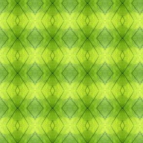 Brilliant Green Diamonds