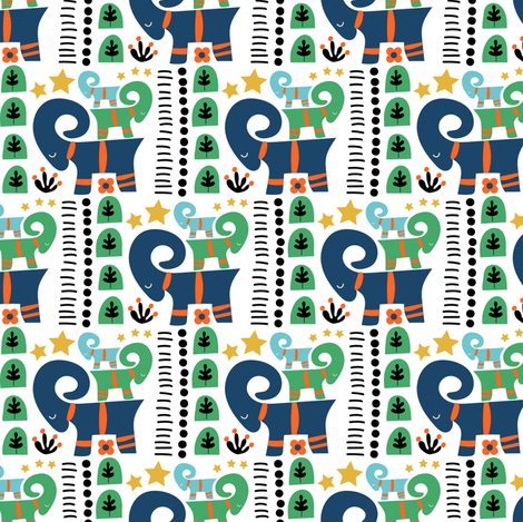3 cool yule fabric by screamingsquirrelstudio on Spoonflower - custom fabric