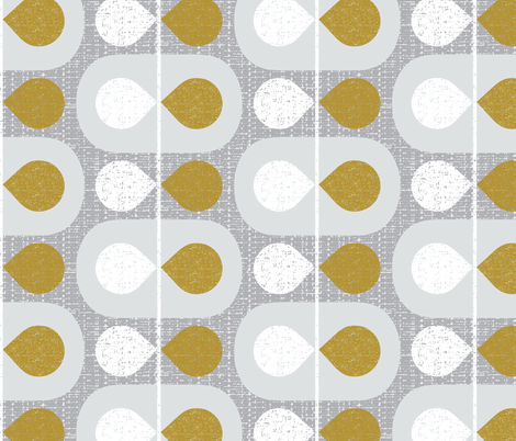 Mod Scandinavian Leaves fabric by ottomanbrim on Spoonflower - custom fabric