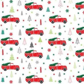 Vintage Trucks Christmas