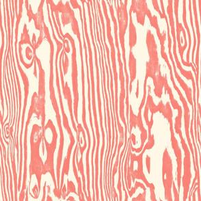 Faux Bois ~ Coral Reef on Cosmic Latte