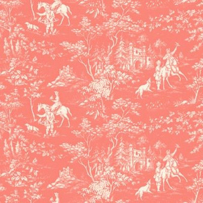 The Grand Hunt ~ Toile ~ Coral Reef on Cosmic Latte