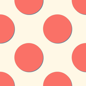 Coral Reef and Cosmic Latte with Elzabeth ~ Polkadot