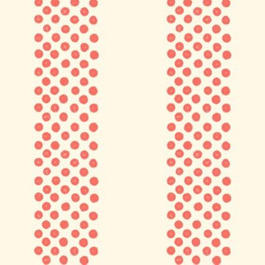 Rayures Polka Dots ~ Coral Reef and Cosmic Latte