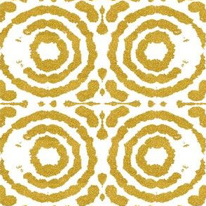 Shibori Circleflower gold
