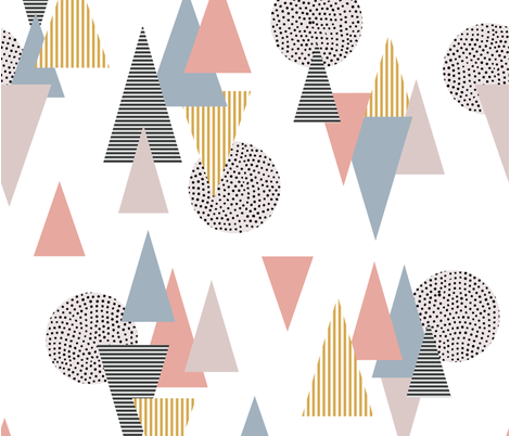 Scandi Theme fabric by cafelab on Spoonflower - custom fabric